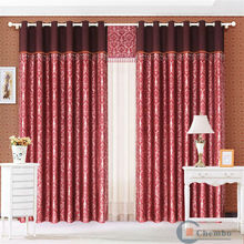 China simple curtains for living room metal ball and chain curtains