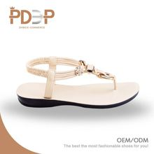 Comfortable soft PU material durable ladies women shoes thailand