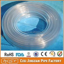 Export UK USA FDA Food Grade PVC & Silicone Flexsil Heater/Radiator Hose, Transparent Garden Hose, Clear Hose Pipe