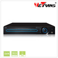 WETRANS 16 Channel DVR XVR5216D Support 2 HDD HDCVI AHD TVI CVBS IP Camera input Hybrid DVR with HDMI Inpout