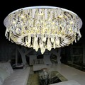 round decorative led crystal ceiling lamp