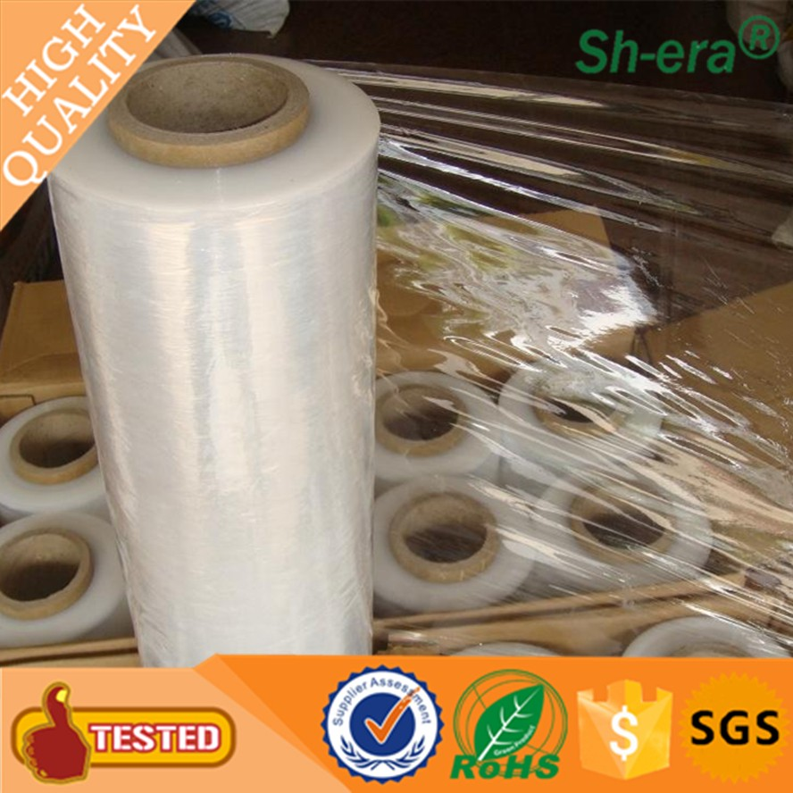 strong tensile strength lldpe stretch film sealing packaging