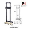 Factory Wholesale Outside Luggage Trolley Handle For Easy Carry