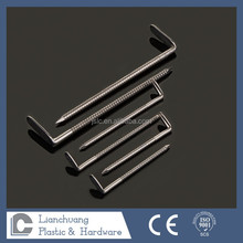 Right Angle Stainless steel Ring Shank nail,angle steel