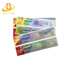 Custom printing free samples holographic steroids 10ml vial label for testosteron enanthate