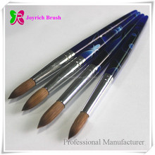 Blue Plastic Acrylic Brush Joyrich Brush Directly Nail Brushes Plastic