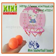 4Pcs Kids Toy Plastic Cartoon Mini Basketball Board Set