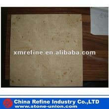 Beige travertine stone