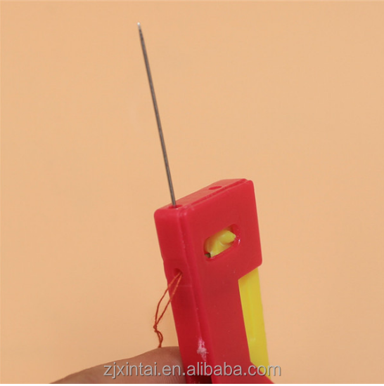 Hot selling plastic automatic easy needle threaders with best price