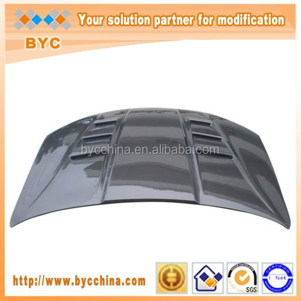Carbon Fiber Car Vented Hood for Hyundai Genesis Coupe 2013up TaiWan Style