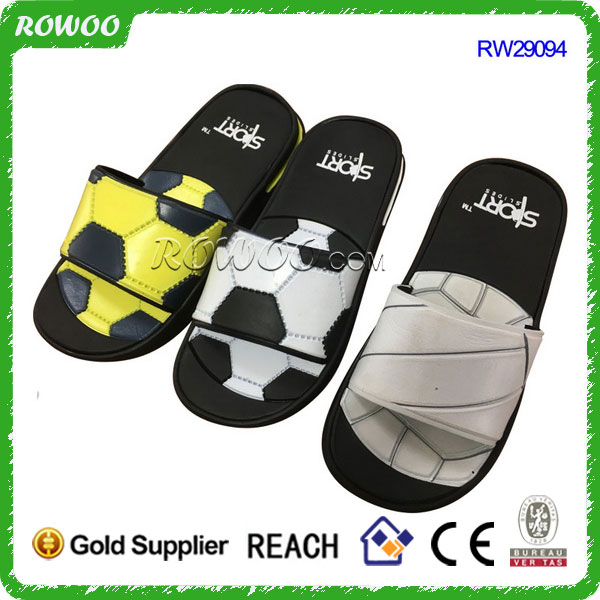 Top Quality football sport print EVA Slipper