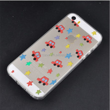 Transparent Design Mobile Phone Back Cover for iPhone 6