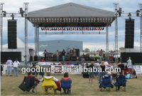 60x40FT ground support PA wings and canopy concert stage roof