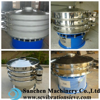 hot sale application White Sugar circular Sand and Gravel Separator Equipment