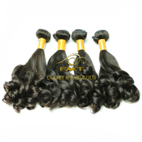 Hair Extension Type and Grade 100% human hair ponytail Human Cheap Brazilian Hair Wave Bundles