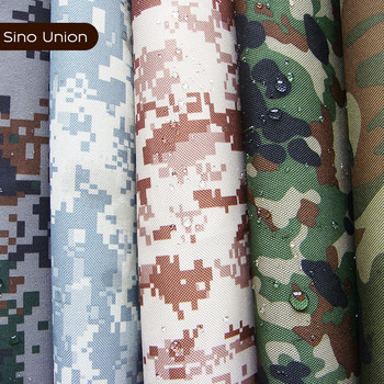 Heat and cold resistant material 100 polyester hunting camouflage fabric