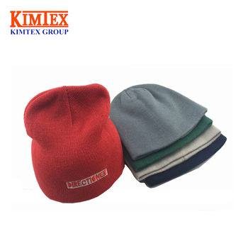 2017 New Design Fashion Simple Winter Knitted Hat