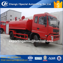 cheapest brand new 15 ton dongfeng water tanker fire fighting sprinkler