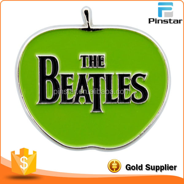 BEATLES Apple Logo Lapel Pin Badge
