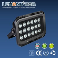 New Design IP65 optical lens 150w LED projector lamp/150w floodlight football stadium yard parking lighting