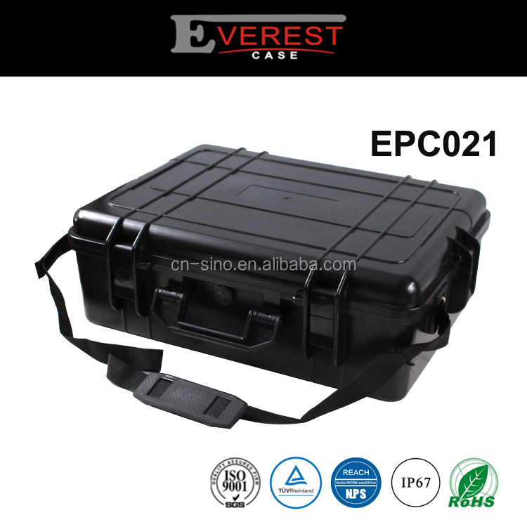EPC021 Popular peli style rugged plastic equipment case for dji phantom 3