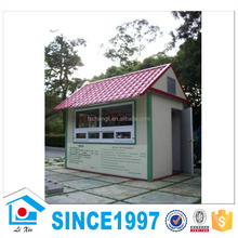 Light steel portable, movable prefab sentry box