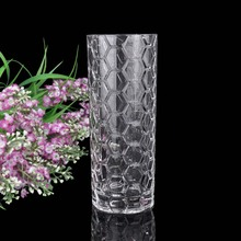 wholesale brilliant glass vase crystal glass decoration creative table glass vase flower vase