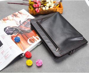 high quality litchi grain laptop bag pu leather pad bag for iapd mini 12.9 inch