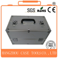 Popular aluminum makeup cosmetic beauty case with extendable trayss