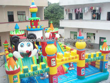 new design inflatable fun city,inflatable kids playground with good quality