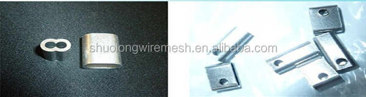 ISO Manufactory 304 316 flexible stainless steel cable mesh