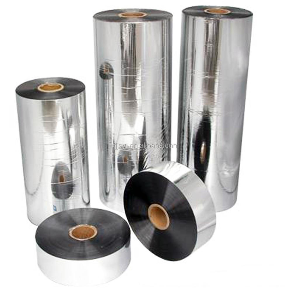 Cold lamination 6 micron aluminum metalized pet <strong>film</strong> for insulation