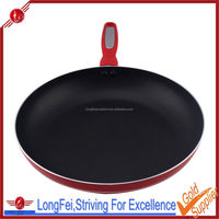 22cm aluminum fry pan industrial frying pan without oil microwave frying pan