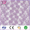 Nylon spandex stretch African lace fabric for evening dress