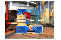 Waste tyre retreading machine