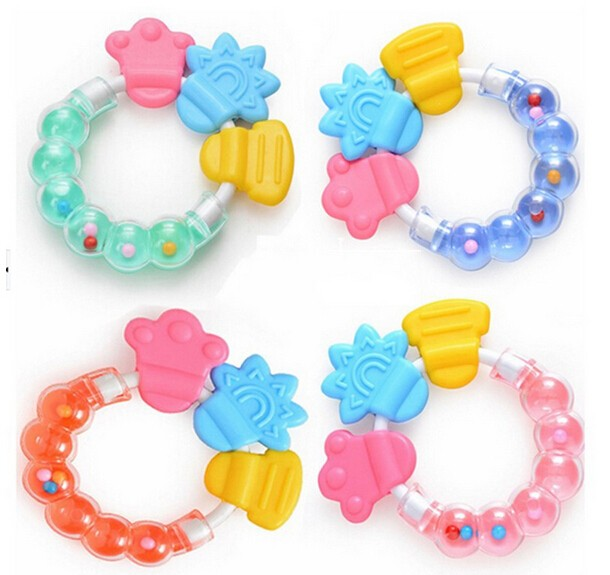 food grade silicone baby teether toys wholesale