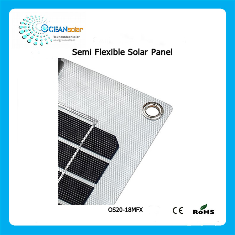 The lowest price flexible sunpower solar panels with OEM