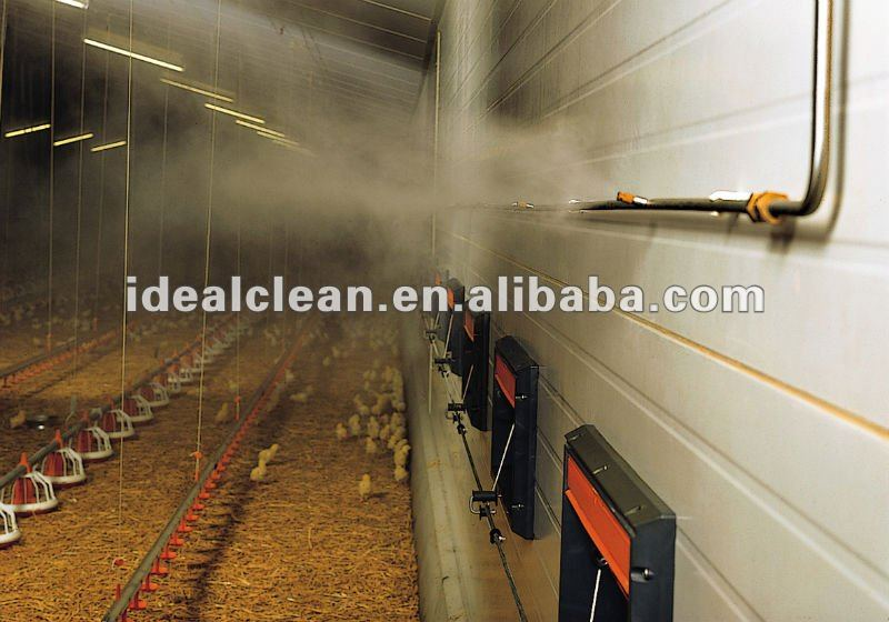 Poultry House Cooling Misting System