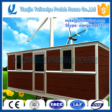cheap prefabricated flat pack used shipping containers office design