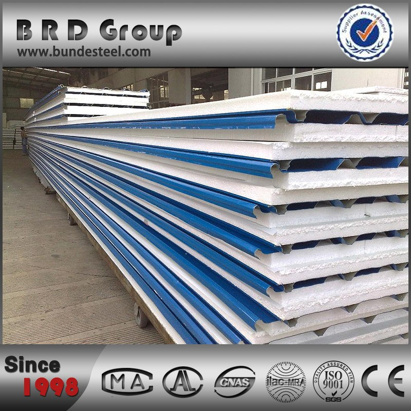 new model low cost water proof eps sandwich panel on sale