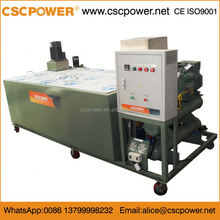 Brine 350kg/24h model 350p cube block ice machine