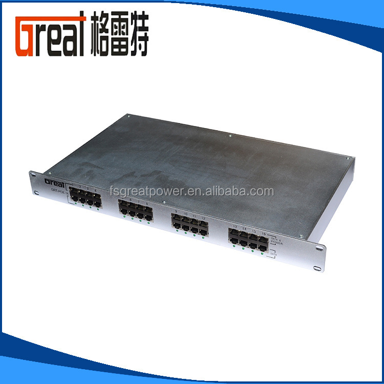 Gigabit poe injector 24v 0.5A poe adapter passive 24 port for cctv wireless