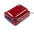 Good quality nail art lamp 828 red silver white 36w uv lamp for nails