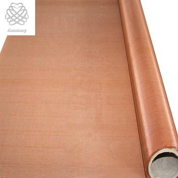 10 20 30 Mesh Pure Copper Wire Mesh For Medical Powder Filter