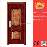 Strong outer packing steel security door SC-S111