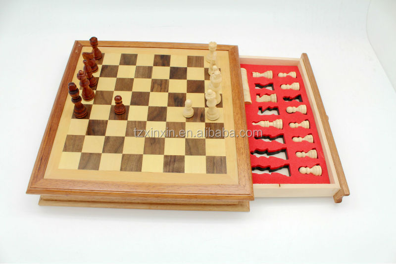 7 in 1 wooden game set with high quality cheap chess sets - Inexpensive chess sets ...