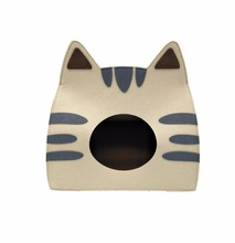 alibaba suppliers felt custom high quality indoor cat house design pet house