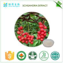 Herb medicine Brown-yellow colour Fructus Schizandrae P.E.