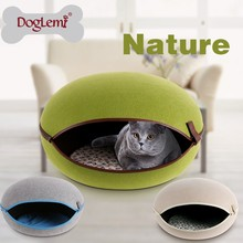 2015 DogLemi Cat Application Wooden cat Bed & Hamburger cat Bed