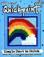 rainbow needle quick point cross stitch